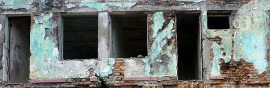 Abandoned hotel in San Blas
