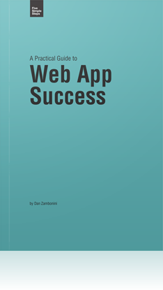 A Practical Guide to Web App Success Book